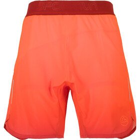 La Sportiva Medal - Short running Homme - orange/rouge